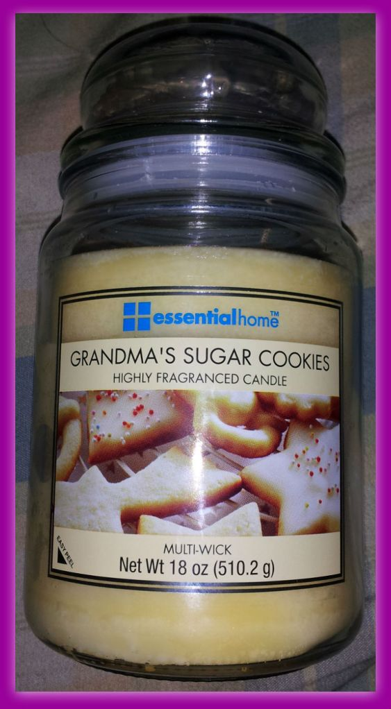 Suger cookie candle