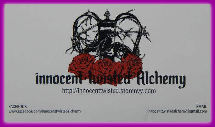 Innocent Twisted Alchemy Card