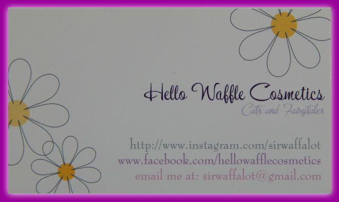 HelloWafflesCosmetics Card