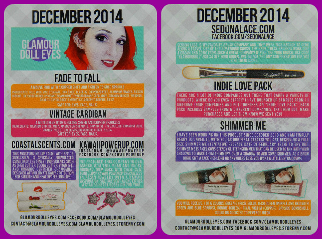 GDE OTM Dec 2014 Card