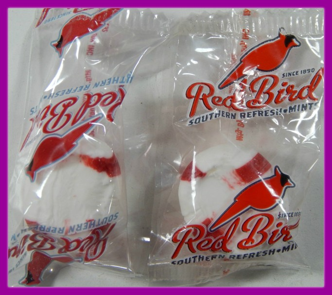 Red Bird Mints Candy